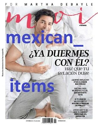 New Chayanne Moi Mexican Magazine 2017 Mexico Spanish October