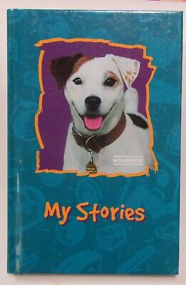 "Wishbone PBS Dog ""My Stories"" Journal Notebook Hardcover Jack Russell Terrier"