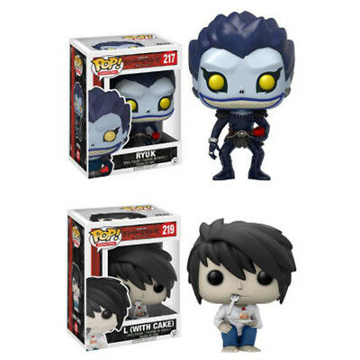 Funko POP Anime Death Note L Action Figure #217 - Funko POP Ryuk 219# Toys