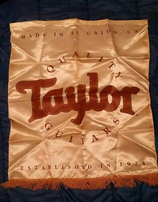Taylor Guitars Fabric Fringed Banner