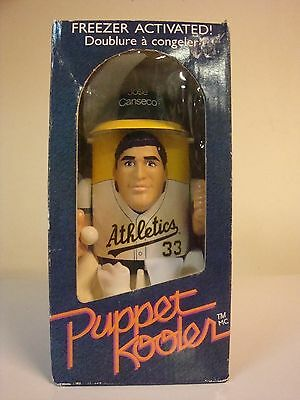 vintage 1989 jose canseco freezer activated puppet cooler MIB