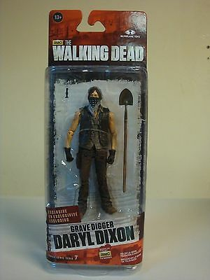 New Exclusive Grave Digger Daryl Dixon Series 7 Articulated Figure