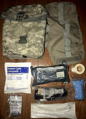 US Military Army ACU IFAK Improved First Aid Kit Molle USGI Medic Medical Pouch