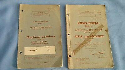 Australian Army Training Pamphlets Machine Carbines and  Rifles