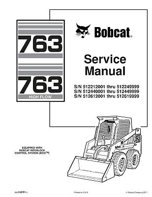 Bobcat 763 763h series skid steer loader service repair manual free best bobcat 763 763h series skid steer loader service repair manual cd 6900091 fandeluxe Gallery