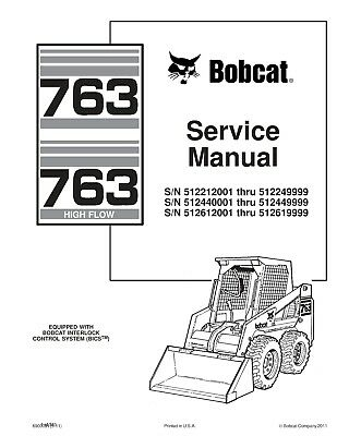 Bobcat 763 763h series skid steer loader service repair manual free best bobcat 763 763h series skid steer loader service repair manual cd 6900091 fandeluxe