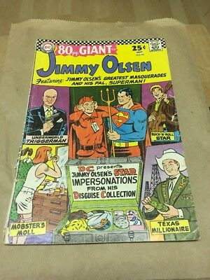 Superman's Pal, Jimmy Olsen #95!! 80-Page Giant, 1966!! Low-Grade Reader!!