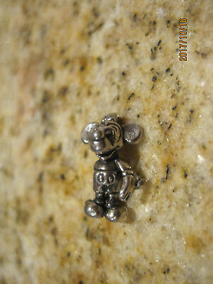 Vintage Sterling Silver Disney Mickey Mouse Charm