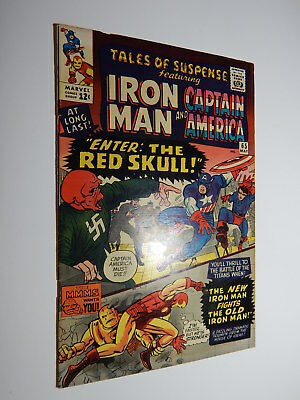 Tales Of Suspense #65 Vf+ 8.5  1St Silver-Age Red Skull  Nazi Cover Not Cgc @.99