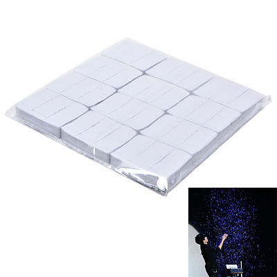 12pcs White Snowflakes Paper Snowstorms Magic Trick Halloweens Xmas Stage Props