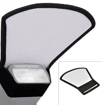 Durable Flash Diffuser Softbox Silver White Reflector FIT for Canon Nikon Camera