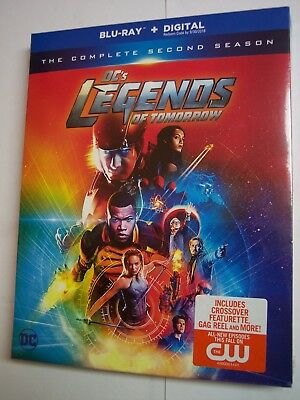DC's Legends of Tomorrow: The Complete Second Season 2 (Blu-ray, Digital, 2017)