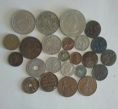 old world coins lot 1899-1967