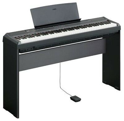 Yamaha P-45 Digital Piano with Yamaha L85 Stand (Stand and Keyboard are Black)