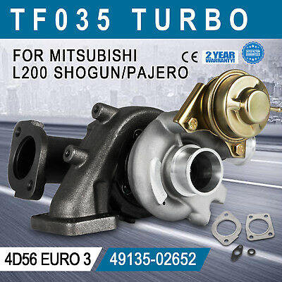 Up for Mitsubishi L200 2.5 L 4D56 Euro 3 TF035 49135-02652 Turbocharger Great