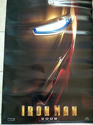 IRON MAN Original teaser movie poster 27x40 double sided