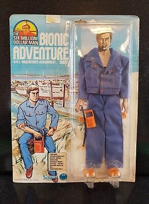 Vintage 70s The six million dollar man* Undercover assignment Set * MOC unopened