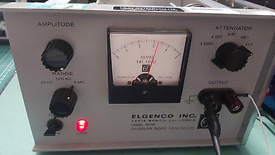 Elgenco Precision Gaussian Noise Generator 603A , 10Hz To 5Mhz