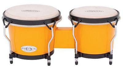 """Toca 6 & 7"""" Synergy Series Synthetic Bongos in Yellow"""