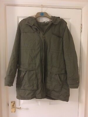 Ladies Khaki Green Maternity coat