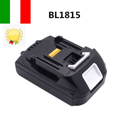 Batteria Makita BL1815N BL1815 per 18V 1,5Ah 1500mAh Al litio Li-ion LXT400 IT