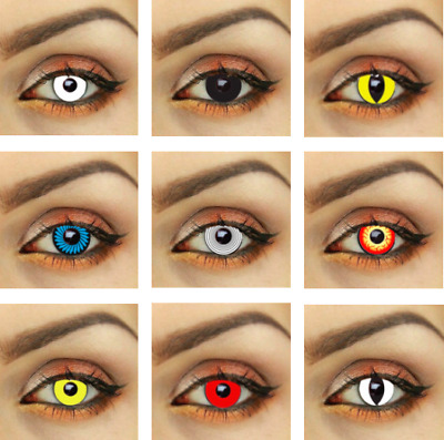 Halloween contacts Oz seller