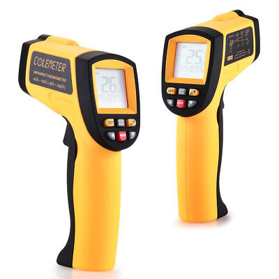 Portable Non-Contact Laser Infrared IR Digital LCD Thermometer Tester °C / °F