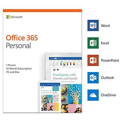 Microsoft Office 365 Personal 2019 5 dispositivi 1 utente 1 anno Italiano ESD IT