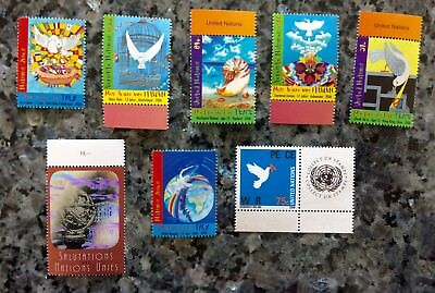 2006 LOT (mixture) 8 Timbres NATIONS UNIES (UNITED NATIONS) Neuf **