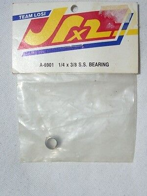 Vintage Team Losi Jrx2  1/4 X 3/8 S.s Bearing A-6901 / Original Bag / Old Stock