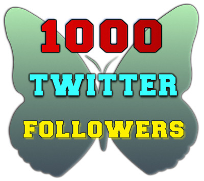 1000 Twitter Followers-High-Quality-Fast