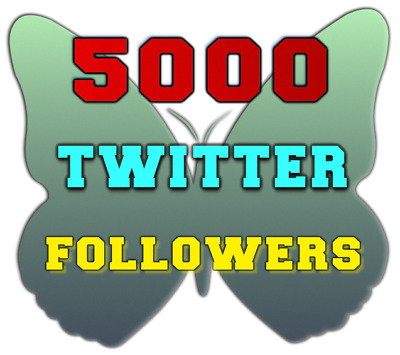 5000 Twitter Followers-High-Quality-Fast