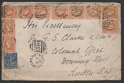 Federation Use Of State Stamps 1903. Vic Governor. Duplex #1504. A Cracker