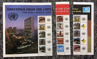 2006 LOT (mixture) 15 Timbres NATIONS UNIES (UNITED NATIONS) Neuf **