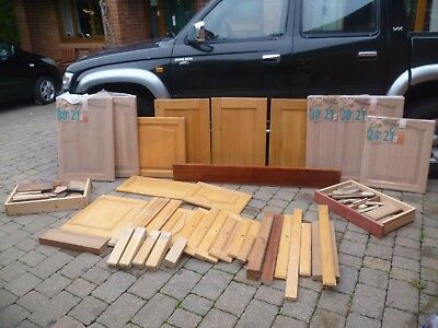 Hard Wood - Oak - Offcuts - Doors - Crafts - Carving - Turning - Job Lot - Cheap