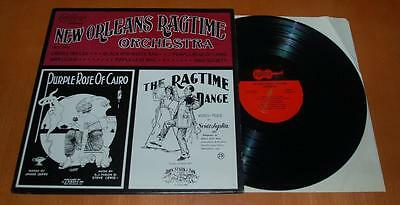 The New Orleans Ragtime Orchestra - 1991 US Arhoolie Records LP