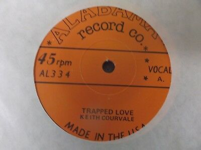 Rockabilly Keith Courvale, Trapped Love / Tennessee Cutups, Barefoot Nellie