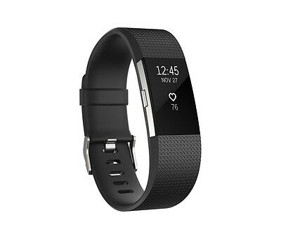 NEW Fitbit Charge 2 Fitness Activity Tracker Heart Rate Monitor WITHOUT BAND