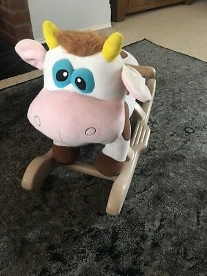 Childs Sit On / Rocker - Cow