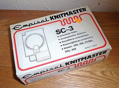 Empisal Knitmaster SC-3 Automatic Linker. Boxed with Instructions