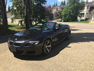 BMW: M6 V10 Convertible 2009 BMW M6 V10 Convertible Independent Series