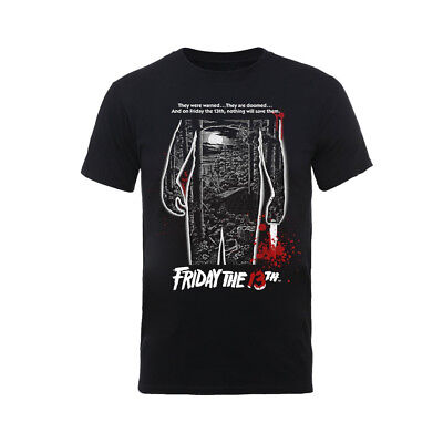 Friday The 13th 'Bloody Poster' T-Shirt  - NEW & OFFICIAL!