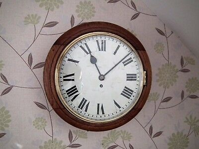 Early 20th century Fusee Wall Clock