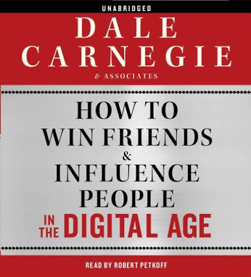 `Carnegie, Dale/ Petkoff, R...-How To Win Friends & Influenc (UK IMPORT)  CD NEW