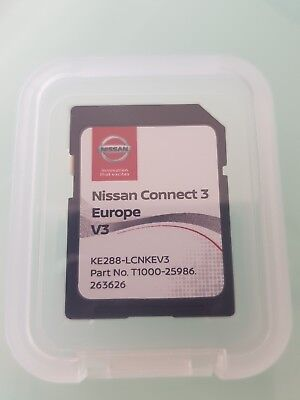 New !!! Carte SD GPS Europe 2018 - Nissan Connect 3 LCN2 v3 (SD CARD)