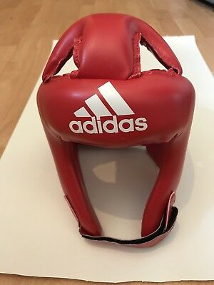 Adidas Rookie Boxing Head guard, Red Large 55-58cm