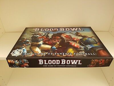 Blood Bowl Game with Deathzone Season 1 and Skaven Team plus extras