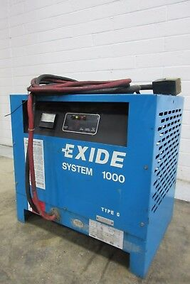 """Exide G-12-865 Battery Charger """"System 1000"""" - AM16790"""