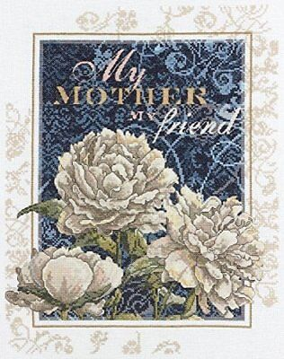 Bucilla Sentiments Counted Cross Stitch Kit, My Mother My Friend
