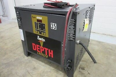 """Enersys """"Gold Depth"""" Battery Charger - Used - AM16796"""